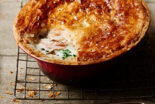 Pastel de pescado con queso